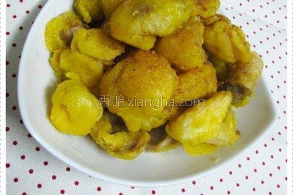 酥炸杏鲍菇的做法