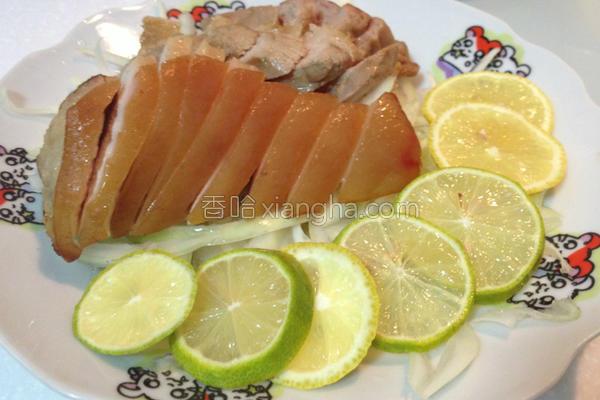 柠檬烧肉片的做法