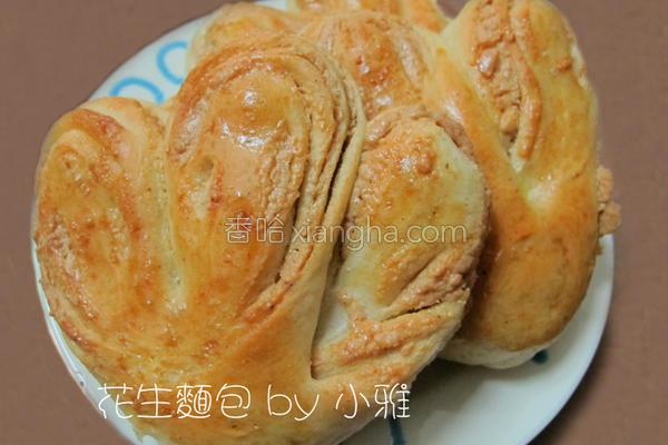 花生面包的做法