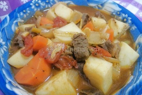 番茄咖哩牛肉的做法