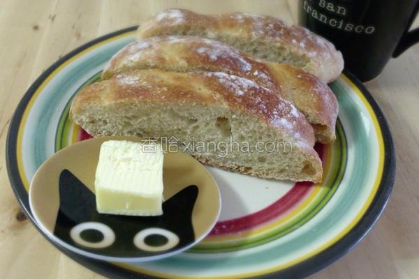 免揉无油欧式面包的做法