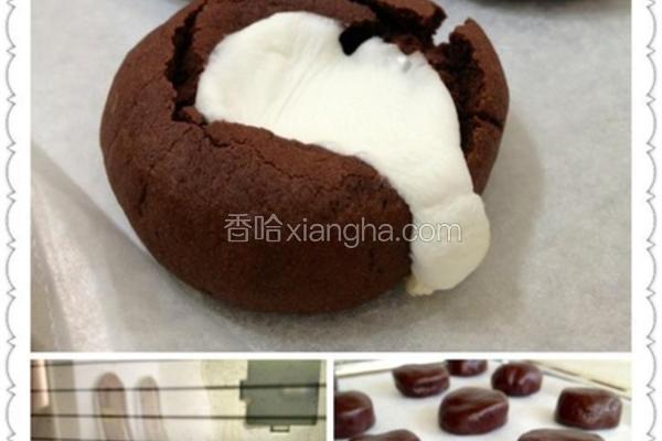 棉花糖巧克力饼干