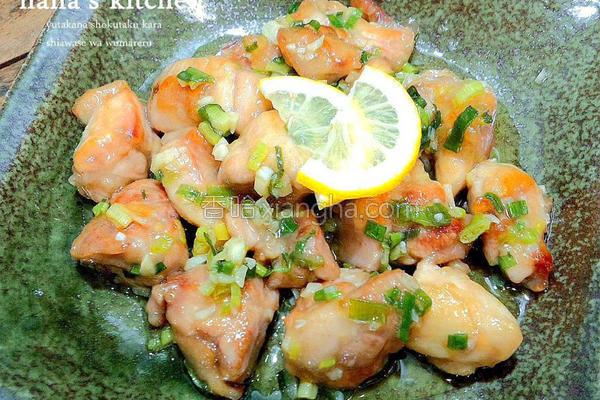 日式盐葱鸡的做法