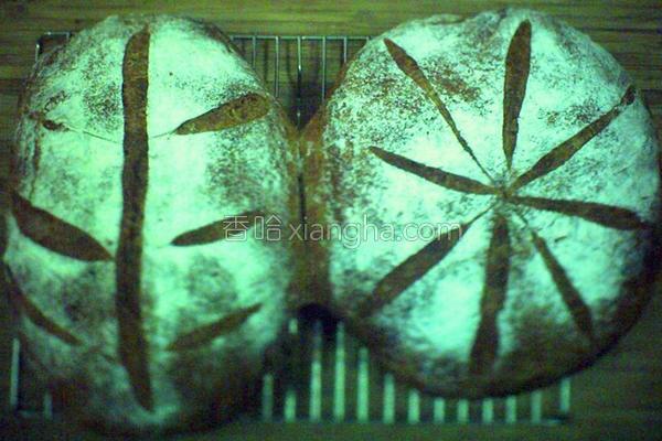 免揉全麦面包的做法