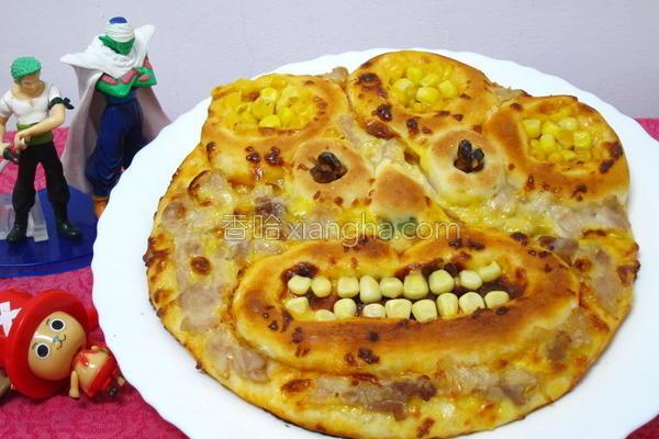 怪兽玉米披萨的做法
