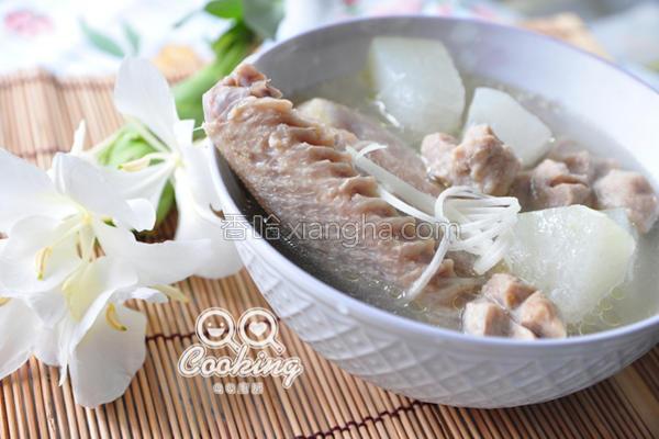 鸭肉炖冬瓜汤的做法