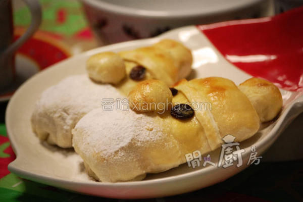 圣诞面包的做法