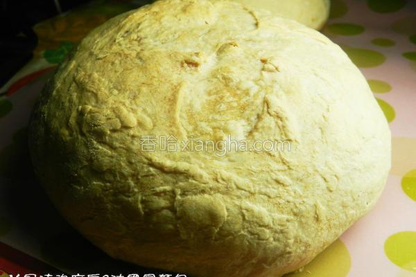 法国圆面包的做法
