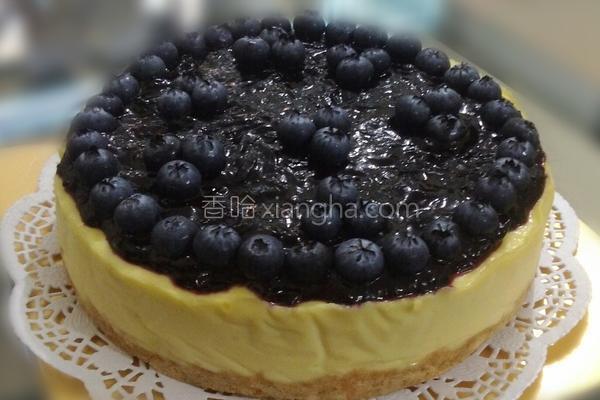 蓝莓芝士饼的做法