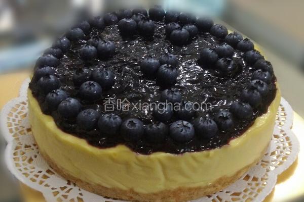 蓝莓芝士饼