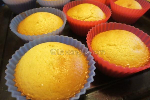 蜂蜜炼乳小蛋糕的做法