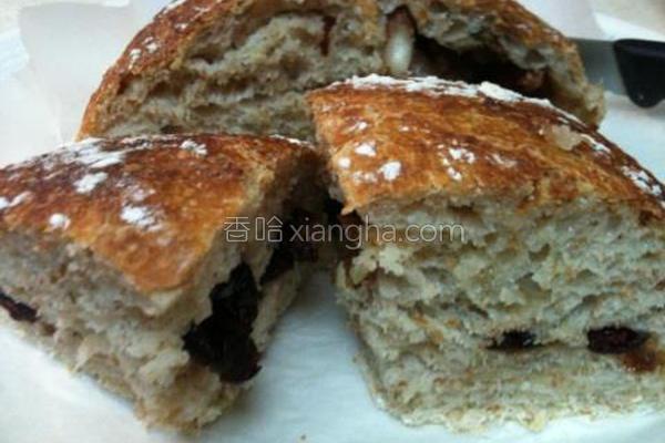 欧式免揉手工面包的做法