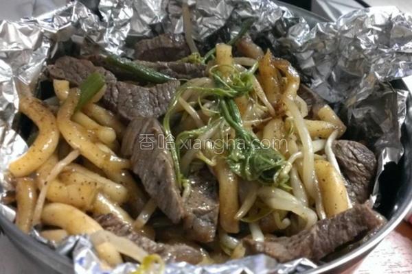 牛肉炒米苔目的做法