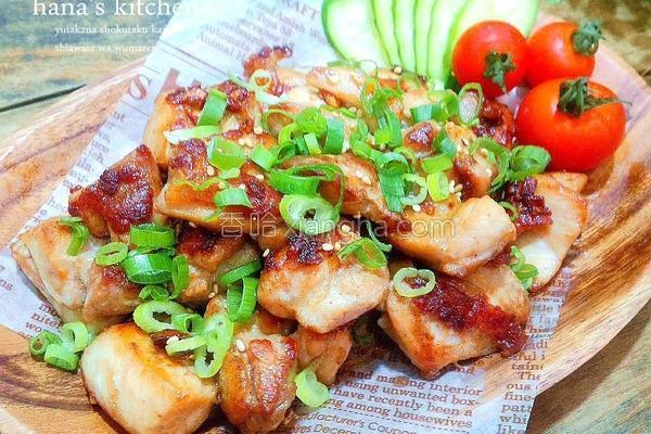 日式椒盐烧烤鸡块的做法