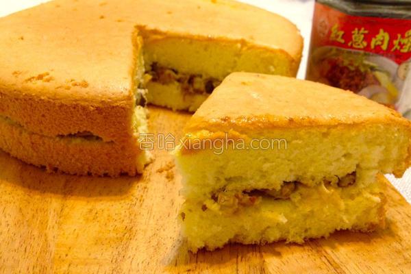丰原咸蛋糕的做法