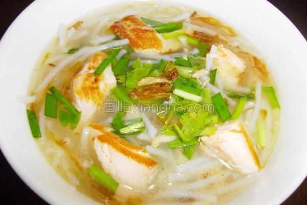 鱼香米粉汤的做法