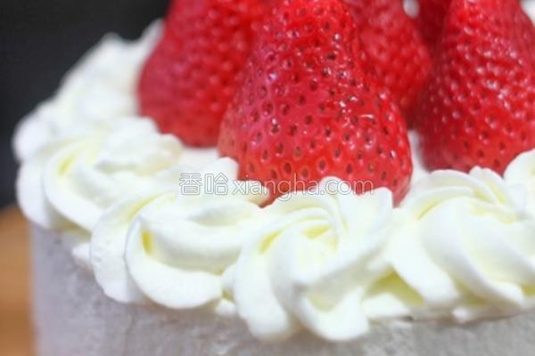 日式草莓蛋糕的做法