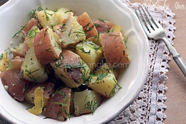 香草马铃薯沙拉的做法