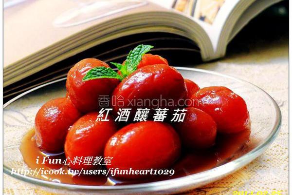 红酒酿番茄的做法