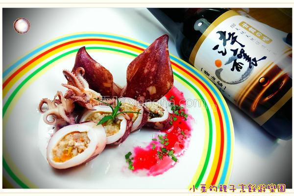虾泥豆腐乌贼卷的做法