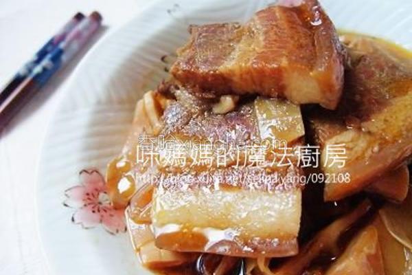 桂竹笋炖五花肉的做法