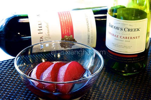 红酒炖苹果的做法