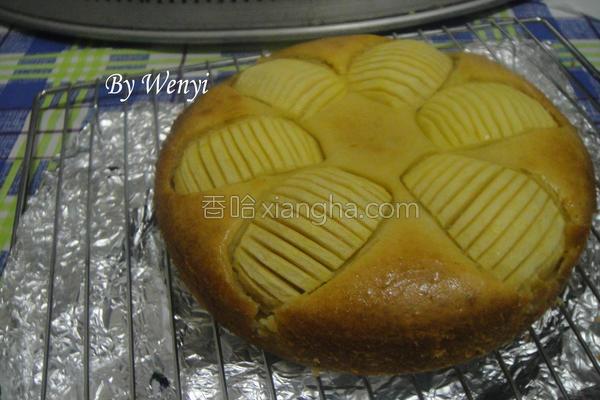 奶油苹果蛋糕的做法