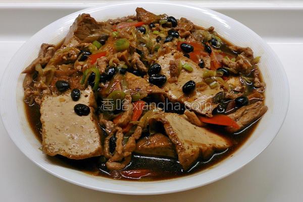 豆豉豆腐的做法