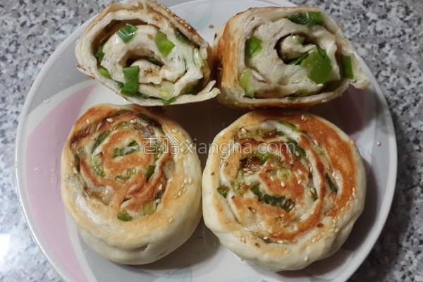 葱卷饼的做法