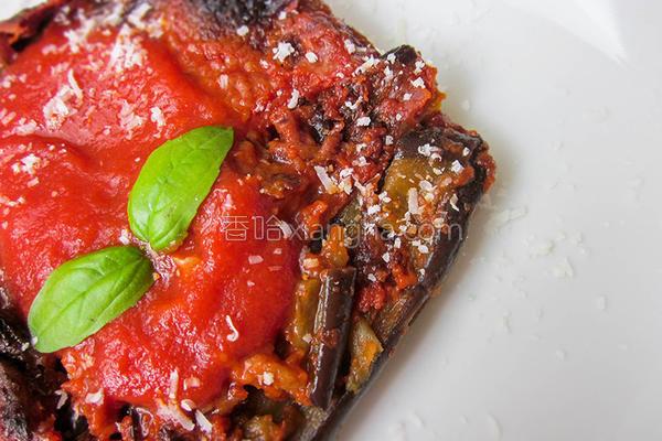 焗烤乳酪香茄的做法