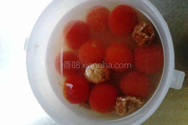梅渍番茄的做法