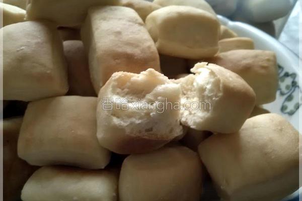 绿豆沙小面包〞的做法