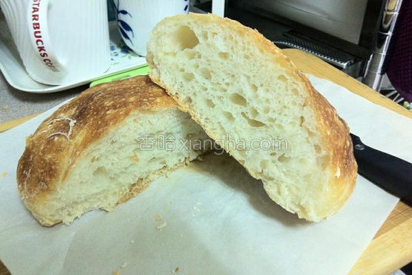 免揉面包的做法