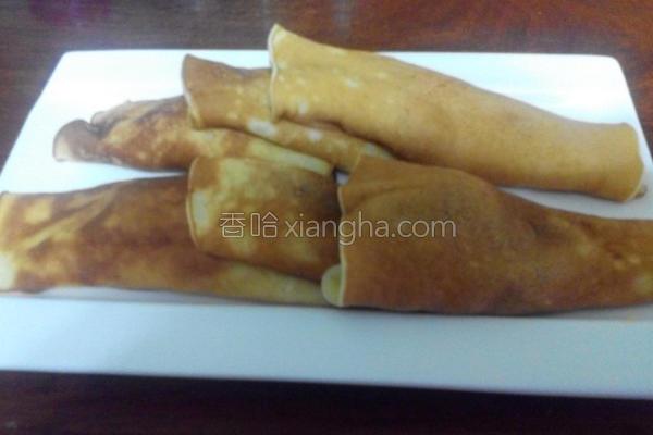 红豆/鲔鱼烧卷的做法