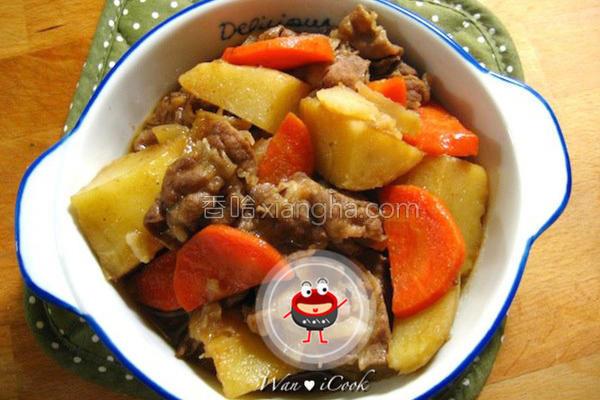 马铃薯炖牛肉的做法