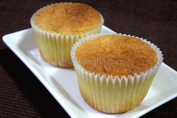 蜂蜜杯子小蛋糕的做法