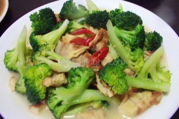 豆包绿花椰菜的做法