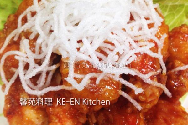 日式红烧虾仁的做法