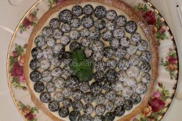 蓝莓奶油乳酪派的做法