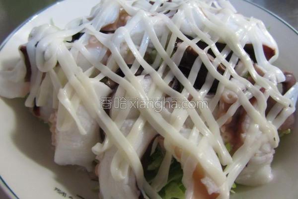 章鱼沙拉的做法