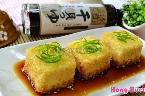 淬酿日式炸豆腐的做法