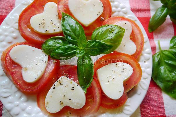 S番茄罗勒的做法