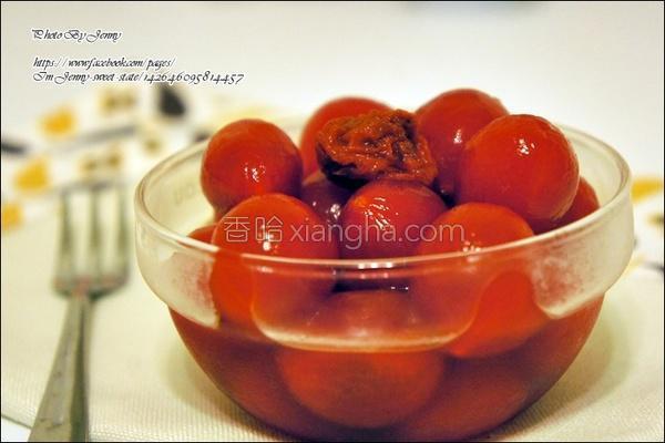 蜂蜜番茄的做法
