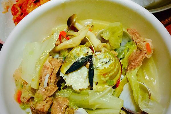 简易饭汤的做法