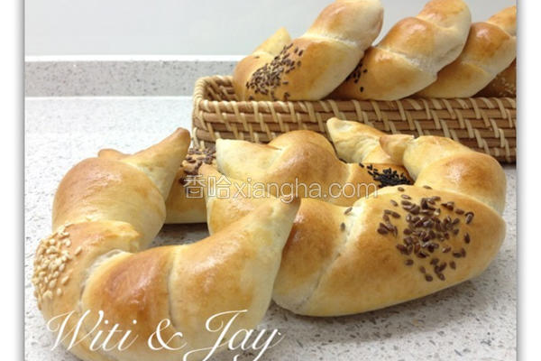 裸麦牛角面包