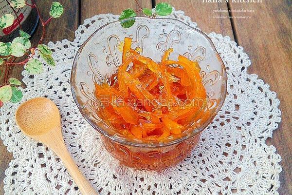 橙皮果酱的做法