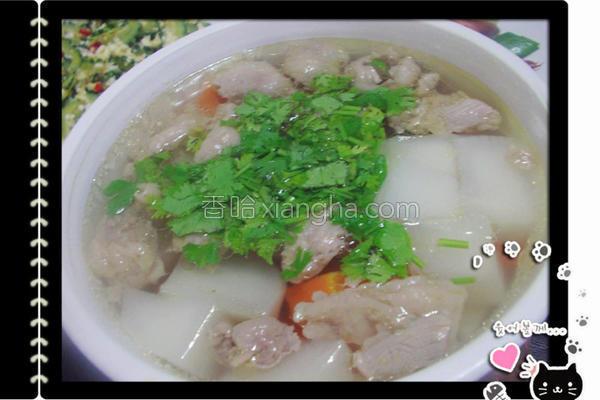 清炖牛杂汤的做法