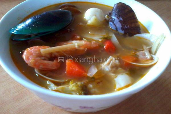 泰式酸辣汤的做法