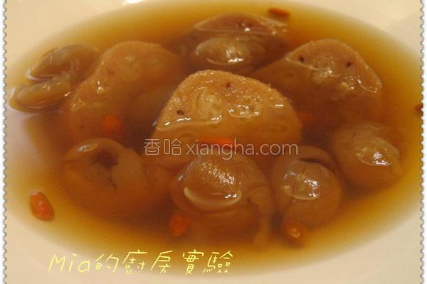 冰糖莲藕桂圆甜汤