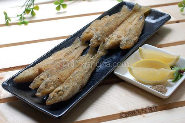酥炸沙梭鱼的做法